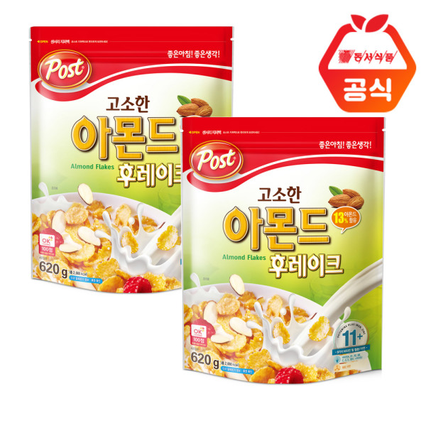 商品圖片,韓國代購|韓國批發-ibuy99|Almond Flakes 620g x 2pcs + Giveaway