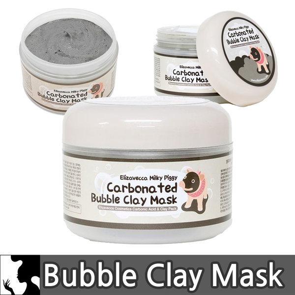 商品圖片,韓國代購|韓國批發-ibuy99|Elizavecca Milky Piggy Carbonated Bubble Clay Mas…