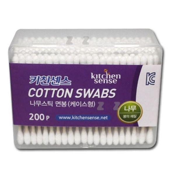 商品圖片,韓國代購|韓國批發-ibuy99|키친센스 나무스틱 면봉 1통