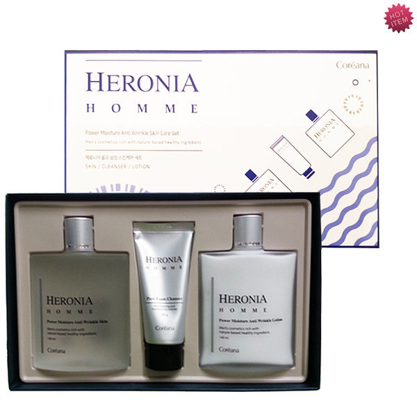 商品圖片,韓國代購|韓國批發-ibuy99|COREANA HERONIA Homme Power Moisture AntiWrinkle …