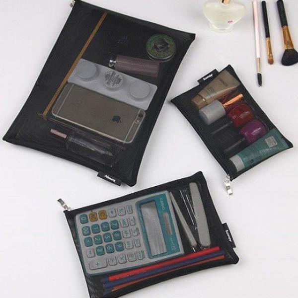 商品圖片,韓國代購|韓國批發-ibuy99|빠띠라인 여행용 메쉬파우치 고급형 3종세트 AMMS02