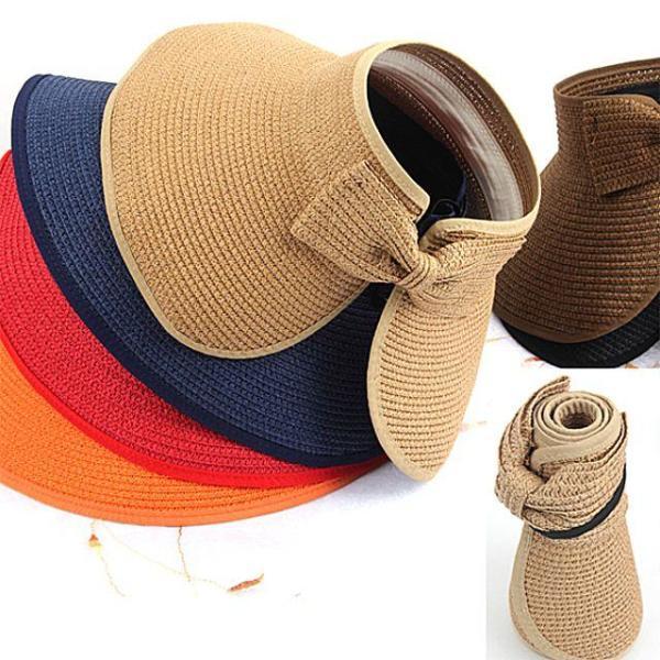 商品圖片,韓國代購|韓國批發-ibuy99|프리미엄 돌돌이 모자 썬캡 왕골모자 밀짚모자 여름