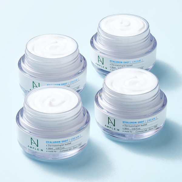 商品圖片,韓國代購 韓國批發-ibuy99 AMPLE:N Hyaluron Shot Cream 60ml