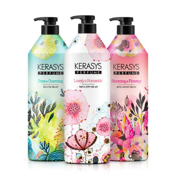 商品圖片,韓國代購 韓國批發-ibuy99 Kerasys Perfume/Shampoo/600mlx5_2111+180mlx2