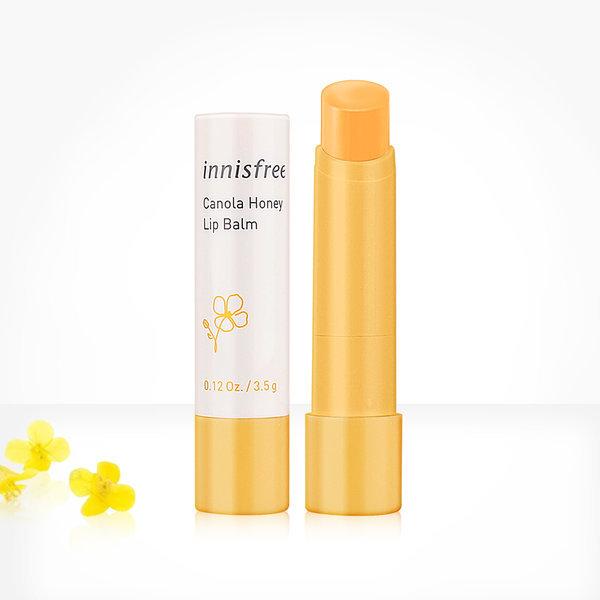 韓國代購|韓國批發-ibuy99|化妆品/香水|彩妆|护唇膏/护唇|[悦诗风吟]innisfree canola honey lip balm 3.5g / Lip …