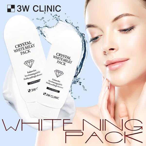 商品圖片,韓國代購|韓國批發-ibuy99|3w clinic crystal white milky pack 200g