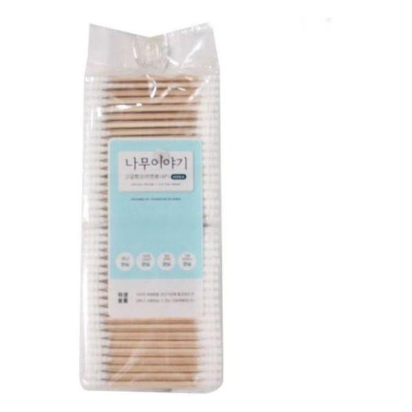 商品圖片,韓國代購|韓國批發-ibuy99|나무이야기 고급 회오리면봉(400P)