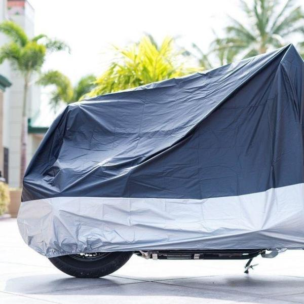 商品圖片,韓國代購|韓國批發-ibuy99|Waterproof/Silver Cutlassfish/Motorcycle Cover/Co…