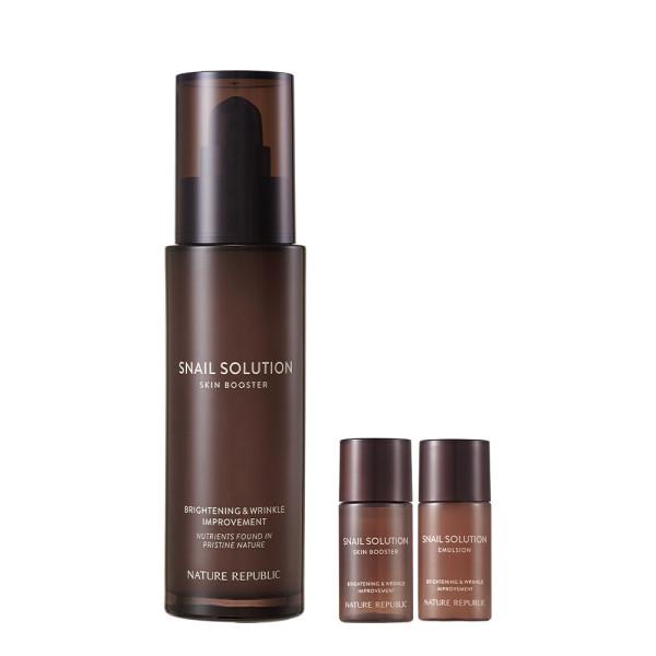 商品圖片,韓國代購 韓國批發-ibuy99 Nature Republic Snail Solution Skin Booster/2 Dou…