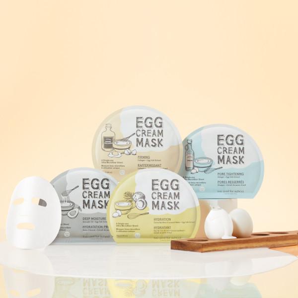 商品圖片,韓國代購 韓國批發-ibuy99 Too cool for school Egg Cream Mask Single Item X …