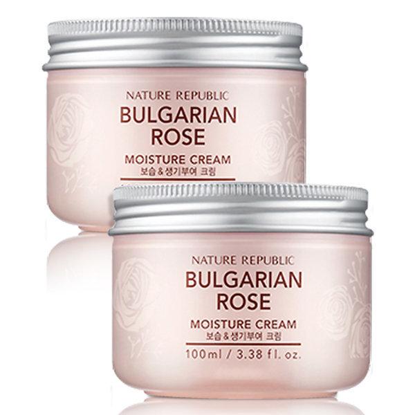 商品圖片,韓國代購 韓國批發-ibuy99 Nature Republic Bulgarian Rose Moisture Cream x2