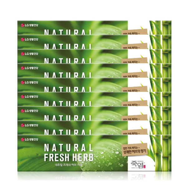商品圖片,韓國代購 韓國批發-ibuy99 BAMBOO SALT Natural Fresh Herb Alpha Toothpaste 1…