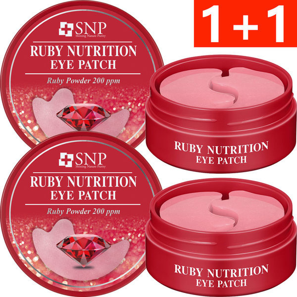 商品圖片,韓國代購|韓國批發-ibuy99|SNP RUBY NUTRITION EYE PATCH X2pcs(1+1)