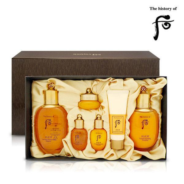 韓國代購|韓國批發-ibuy99|化妆品/香水|护肤|护肤套装|[공진향]Whoo后拱辰享套盒气韵生系列礼盒6件套