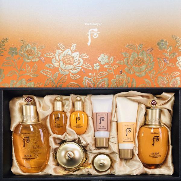 韓國代購|韓國批發-ibuy99|化妆品/香水|护肤|护肤套装|[공진향]后 拱辰享 3件 特别版 宫廷套装
