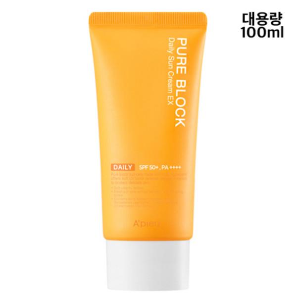 商品圖片,韓國代購|韓國批發-ibuy99|퓨어 블록 내추럴 데일리 선크림대용량