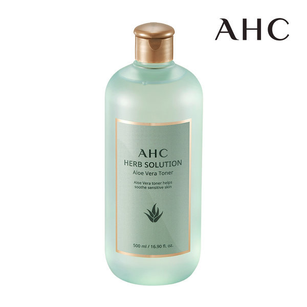商品圖片,韓國代購|韓國批發-ibuy99|AHC Herb Solution Aloe Vera Toner 500ml