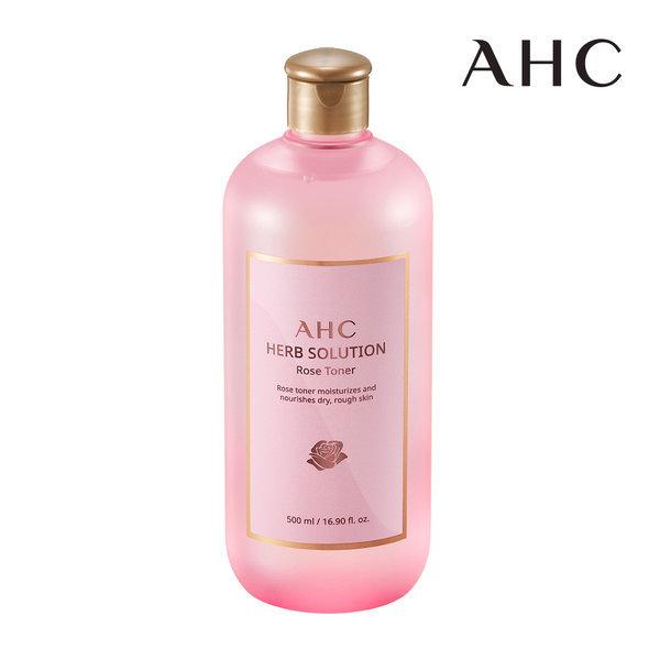 商品圖片,韓國代購|韓國批發-ibuy99|AHC HERB SOLUTION ROSE TONER 500ml