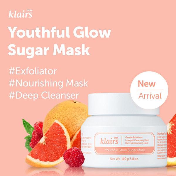 商品圖片,韓國代購|韓國批發-ibuy99|Klairs/Youthful Glow Sulgar Mask/Exfoliatior