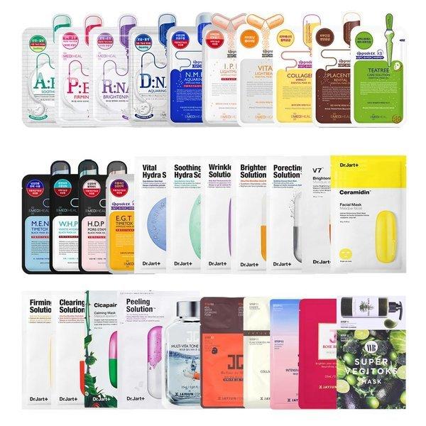 商品圖片,韓國代購 韓國批發-ibuy99 MEDIHEAL/Dr.Jart+/BANOBAGI Popular Mask Pack 38-i…