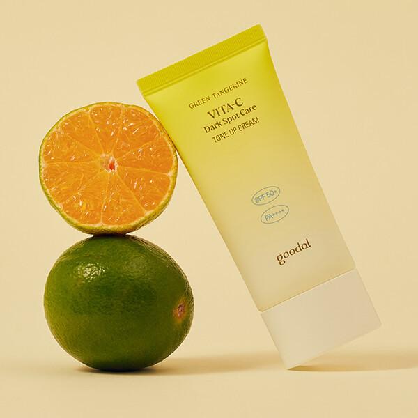 商品圖片,韓國代購 韓國批發-ibuy99 구달 청귤 비타C 잡티 톤업크림