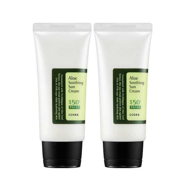 商品圖片,韓國代購|韓國批發-ibuy99|Aloe Soothing Sun Cream SPF50 PA+++