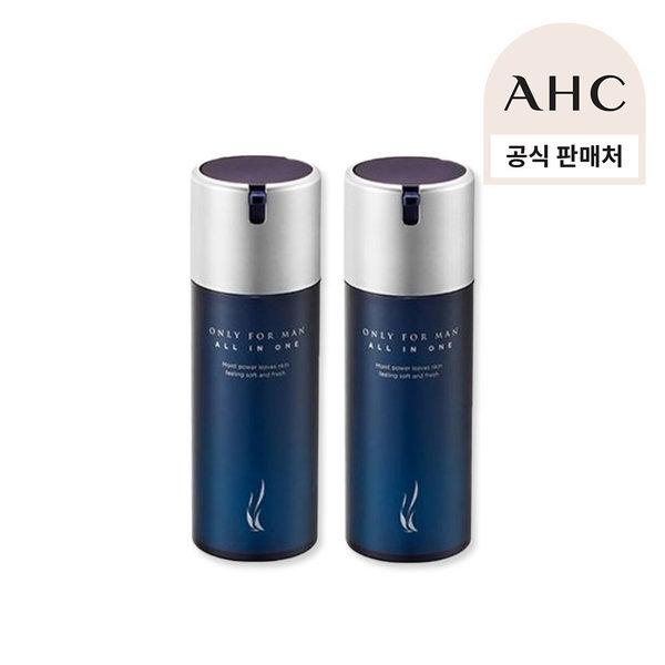 商品圖片,韓國代購 韓國批發-ibuy99 AHC 온리포맨 올인원 에센스 120ml 2개/남성올인원