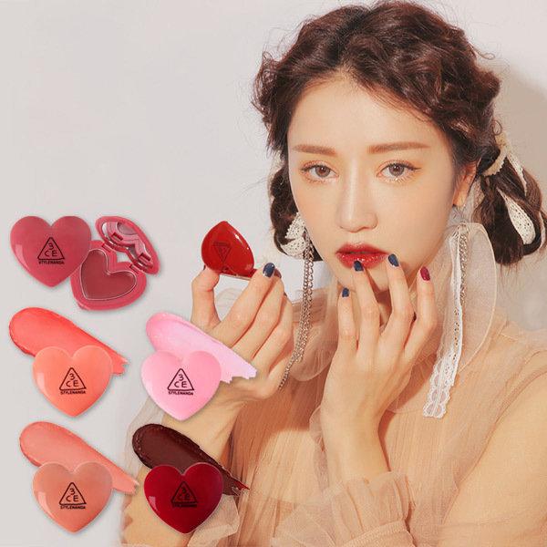 韓國代購 韓國批發-ibuy99 化妆品/香水 彩妆 护唇膏/护唇 [3只眼]3CE HEART POT LIP