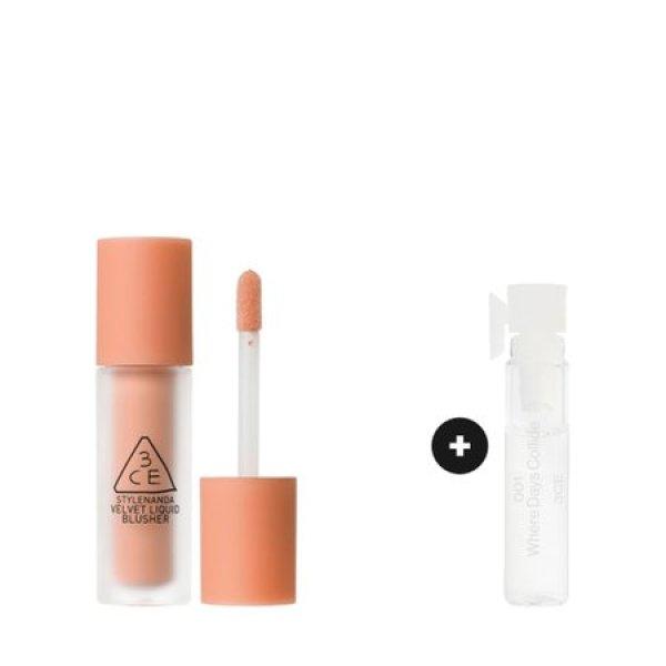韓國代購|韓國批發-ibuy99|化妆品/香水|彩妆|腮红|[3只眼]3CE VELVET LIQUID BLUSHER  벨벳 리퀴드 블러셔