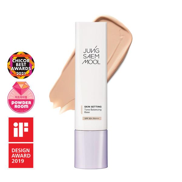商品圖片,韓國代購 韓國批發-ibuy99 JUNGSAEMMOOL Skin Setting Tone Balancing Base SPF…