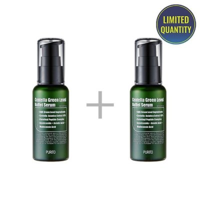 [PURITO]1+1 Centella Green Level Buffet Serum 60ml