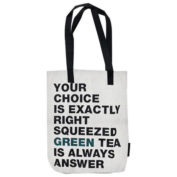 韓國代購 韓國批發-ibuy99 包/配饰 女士/手提包 手提包 [悦诗风吟]悦诗风吟/绿色/环保袋