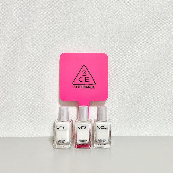 韓國代購|韓國批發-ibuy99|化妆品/香水|美容用品|手持镜|[3只眼]3ce손거울 SQUARE HAND MIRROR 미니사이즈+VDL프라이머