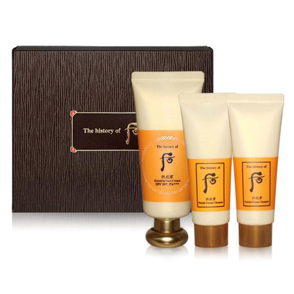 韓國代購|韓國批發-ibuy99|化妆品/香水|防晒护理|防晒霜|[공진향]THE WHOO Essential Sun Cream Special Set