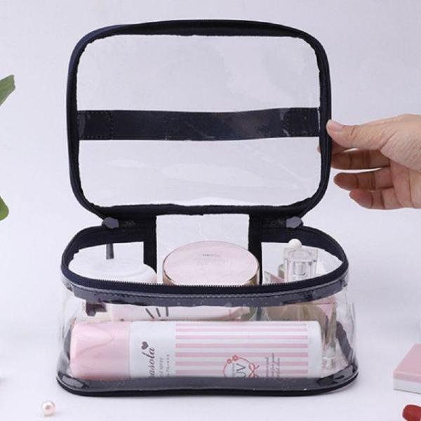 商品圖片,韓國代購 韓國批發-ibuy99 PVC/Transparent/Makeup Pouch