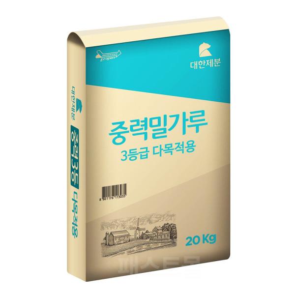 商品圖片,韓國代購|韓國批發-ibuy99|Daehan Flour GOMPYO Flour 20kg (Medium Flour Grad…