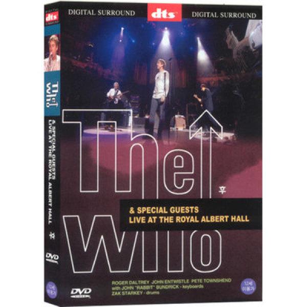韓國代購 韓國批發-ibuy99 图书音像/远程教育 DVD/录像机 MV / 演唱会 [정품.새제품][앤해즈] [DVD] 더후 라이브: 로얄알버트홀 [dts]- The Who…