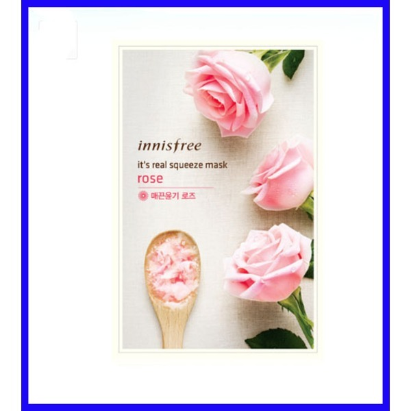 韓國代購 韓國批發-ibuy99 化妆品/香水 面膜/贴 面膜 [悦诗风吟][悦诗风吟]真萃鲜润面膜 玫瑰