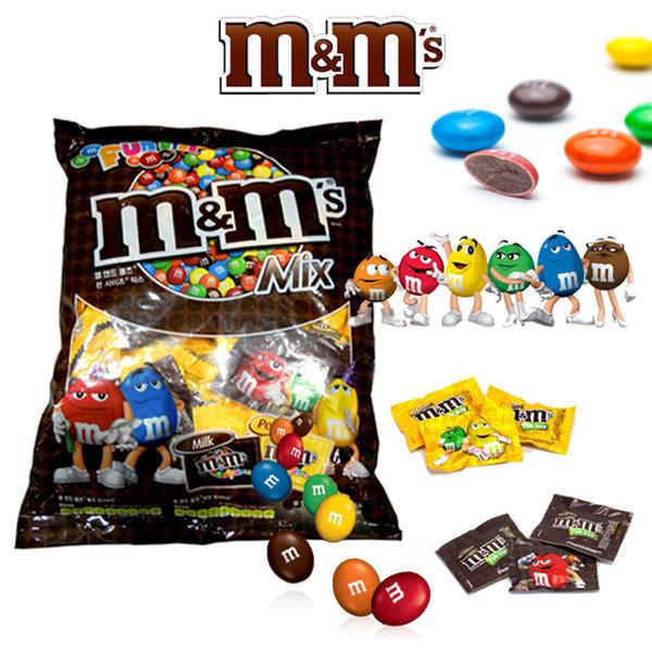 商品圖片,韓國代購|韓國批發-ibuy99|m/m/Mnm`S/MIX/Chocolate/1.58kg/Mnm`S