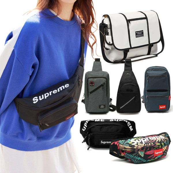 商品圖片,韓國代購|韓國批發-ibuy99|Unisex hip sack/sling bag/messenger bag/crossbody…