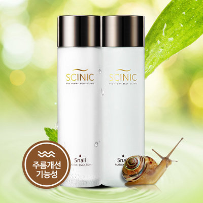 SCINIC/Snail/Skin Care Products/2 Types