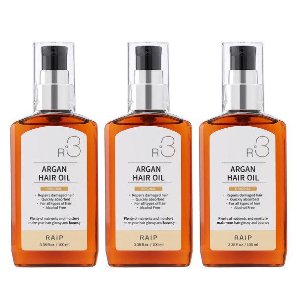商品圖片,韓國代購 韓國批發-ibuy99  RAIP  ARGAN OIL 100ml 1+1+1/Hair Essence/Hair Oil