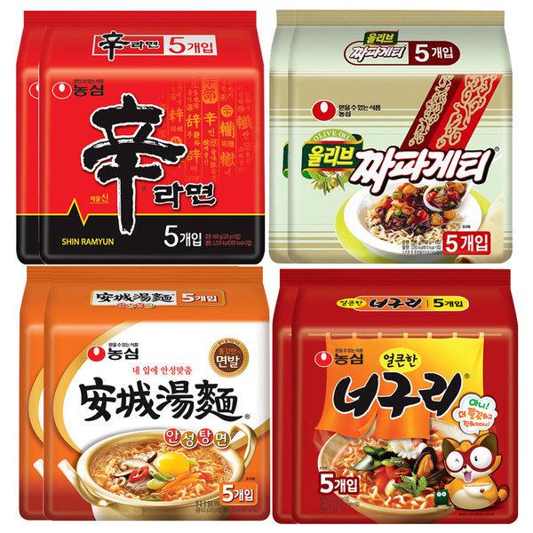 商品圖片,韓國代購|韓國批發-ibuy99|Ramen x 40pcs Kimchi ramyun Ansungtangmyun Shin R…
