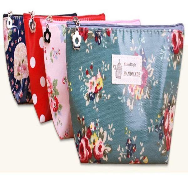 商品圖片,韓國代購 韓國批發-ibuy99 플로라 파우치 (PH076) 화장품파우치