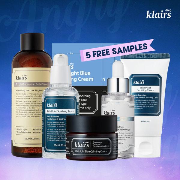 商品圖片,韓國代購 韓國批發-ibuy99 KLAIRS/Angry Skin Calming Package/skincare package