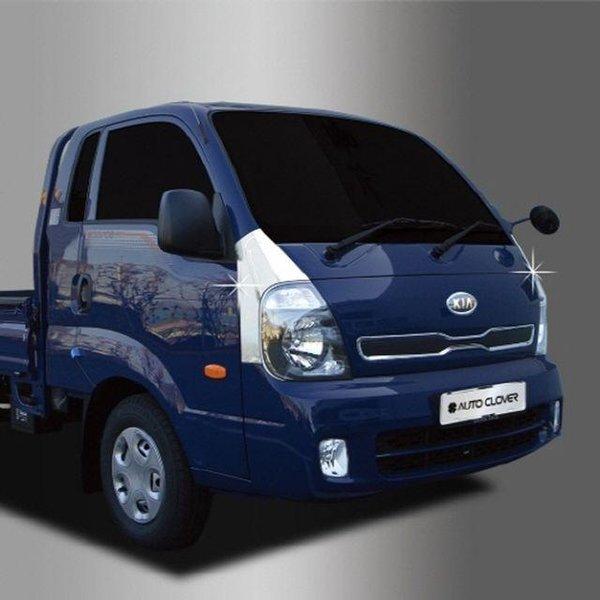 商品圖片,韓國代購|韓國批發-ibuy99|봉고3 크롬 범퍼몰딩 2pcs UPPER 자동차범퍼가드